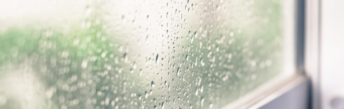 Condensation sur les fenêtres: causes et solutions