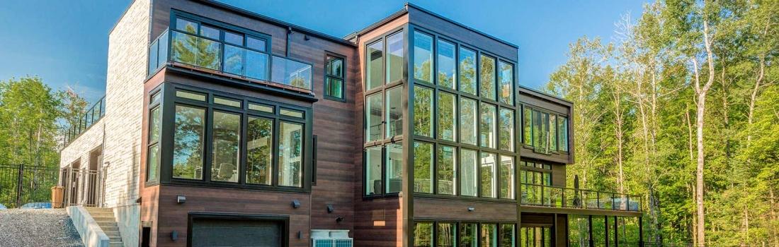 Fenêtres thermos avec du verre énergétique: pour une économie d'énergie maximale